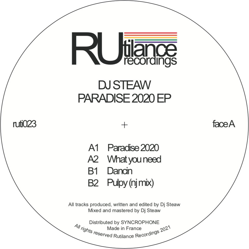DJ Steaw - Paradise 2020 EP