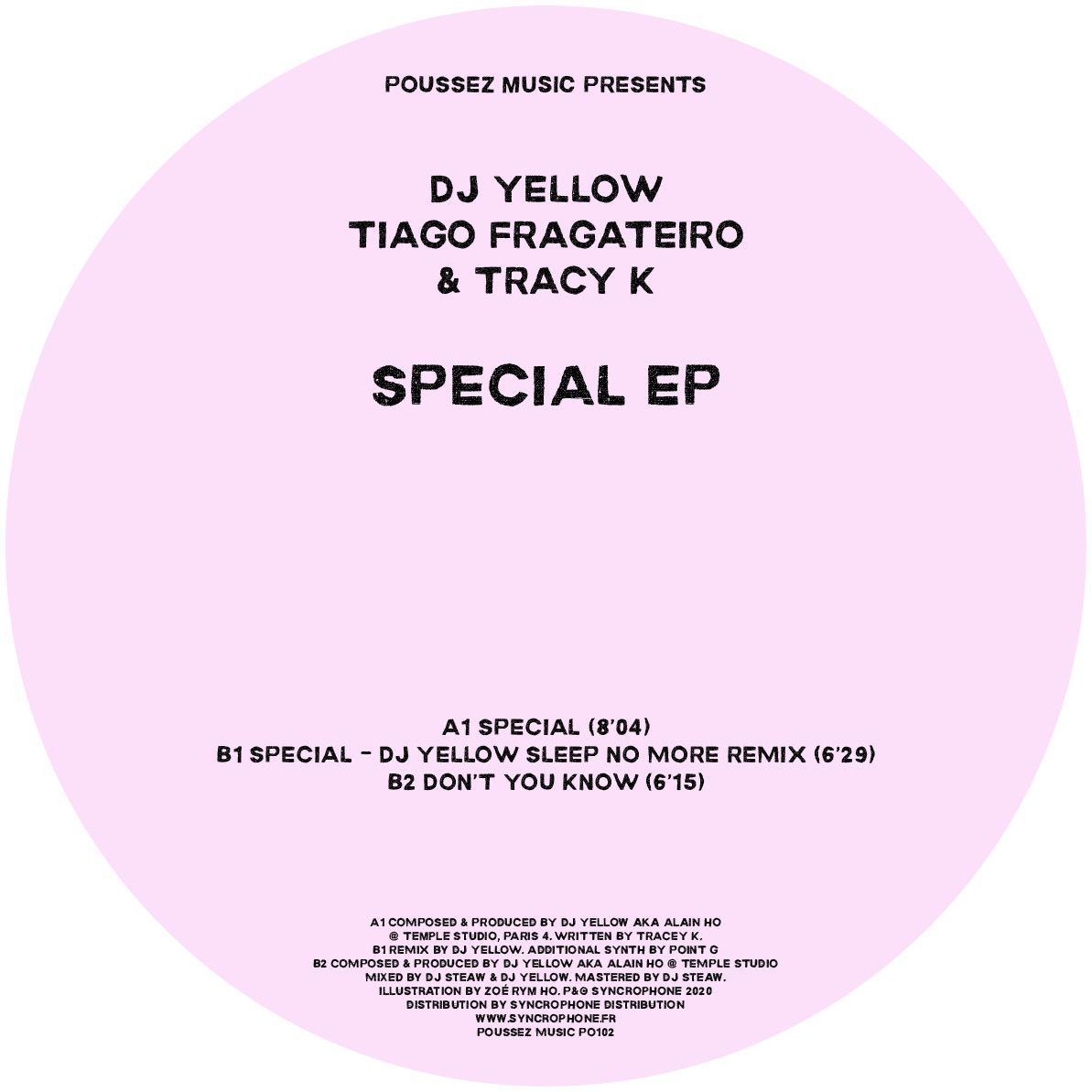 DJ Yellow,Tiago Fragateiro & Tracy K - Special EP