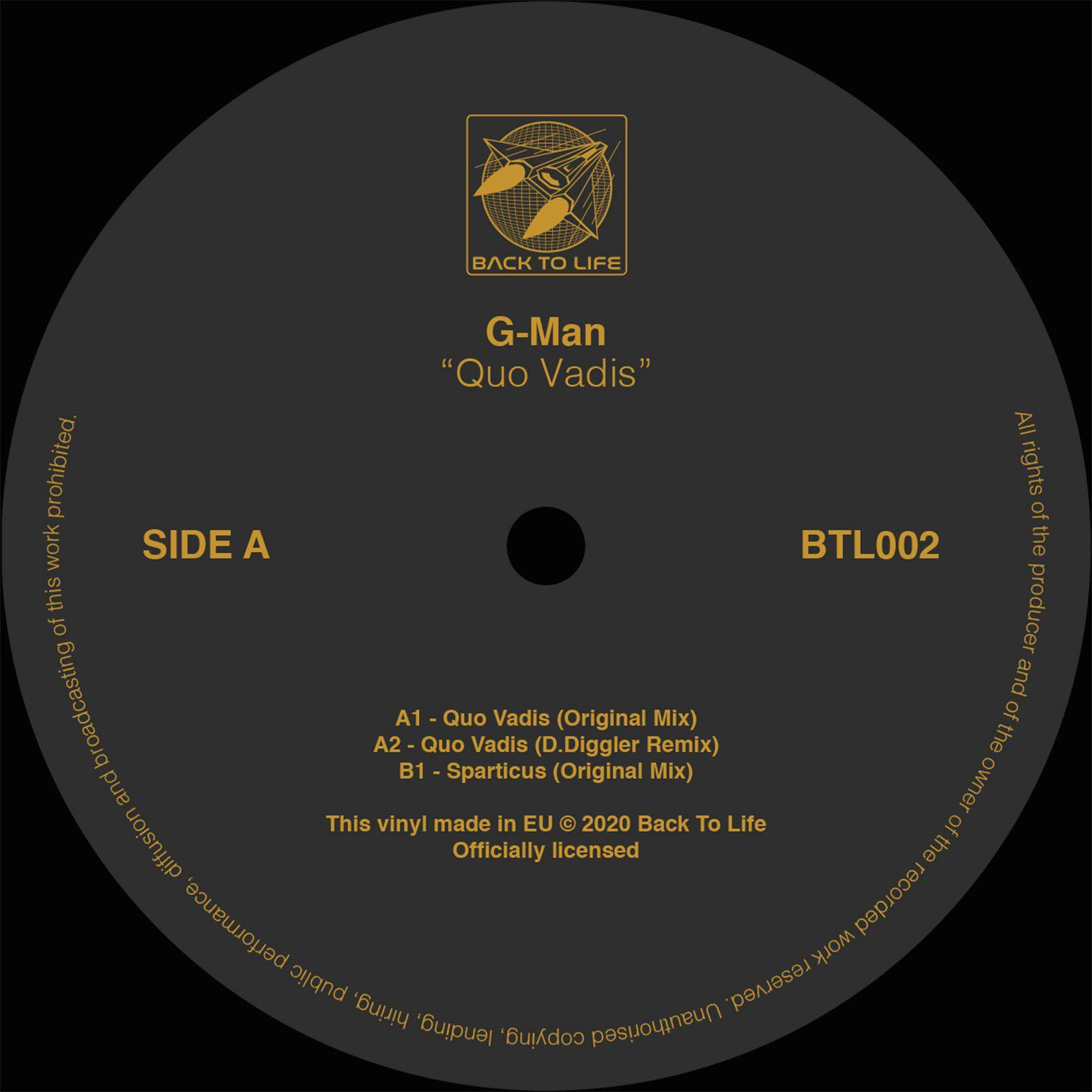G-Man - Quo Vadis [reissue]