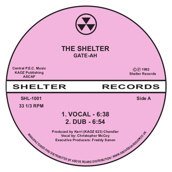 Gate-Ah (Kerri Chandler) - The Shelter