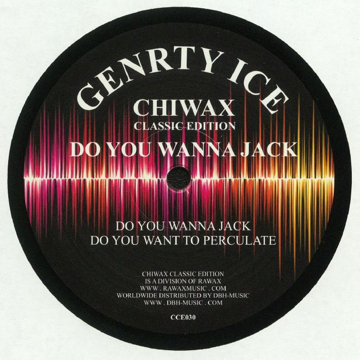 Genrty Ice / Adonis - Do You Wanna Jack
