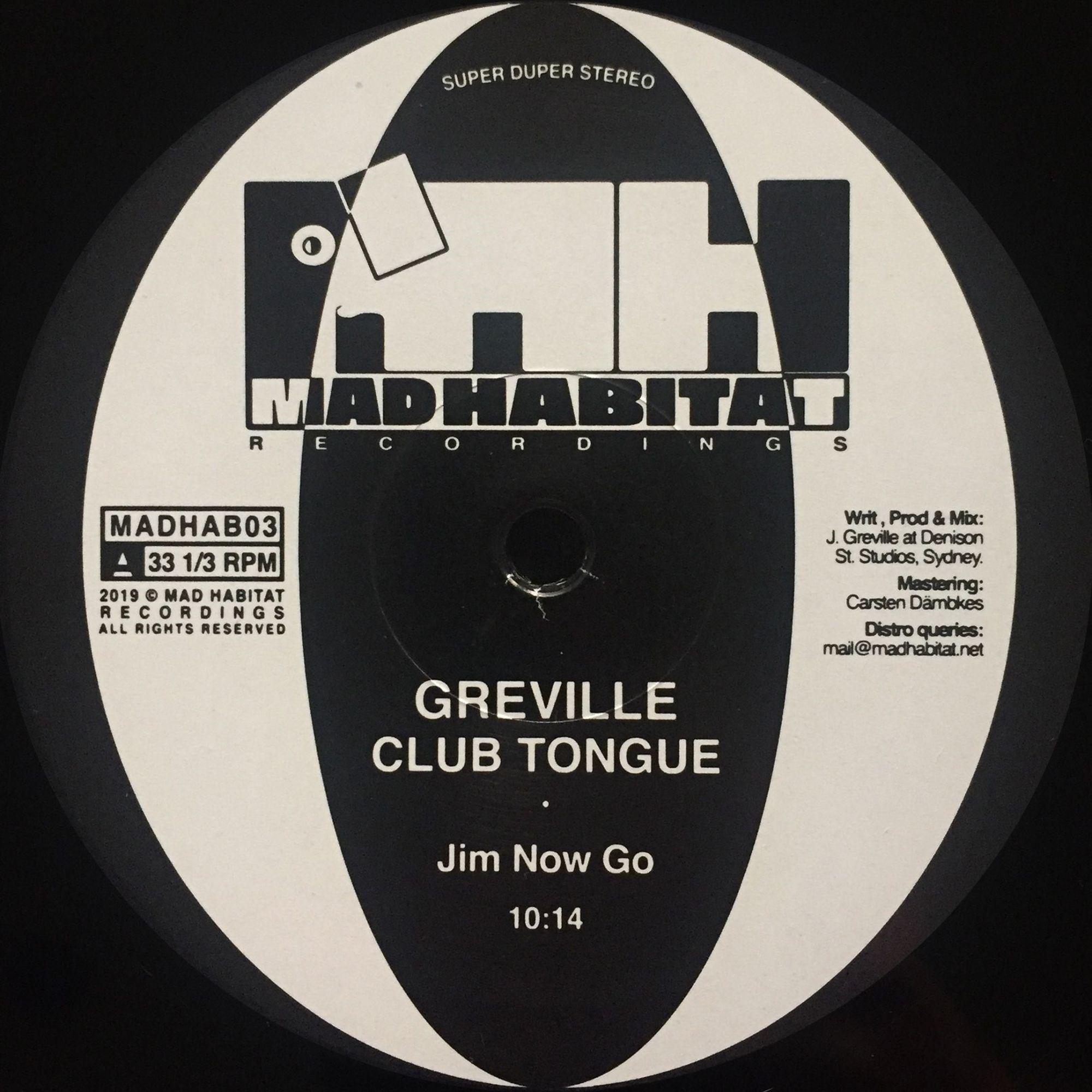 Greville - Club Tongue