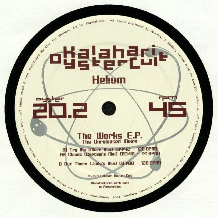 Helium - The Work EP: The Unreleased Mixes (Remastered)