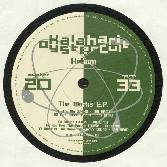 Helium - The Works EP: Original & Unreleased Mixes