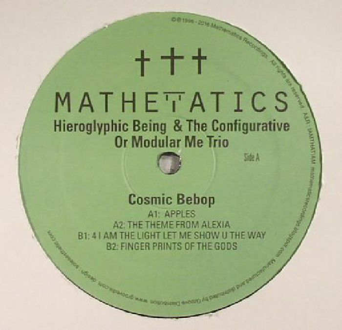 Hieroglyphic Being And The Configurative Or Modular Me Trio - Cosmic Bebop