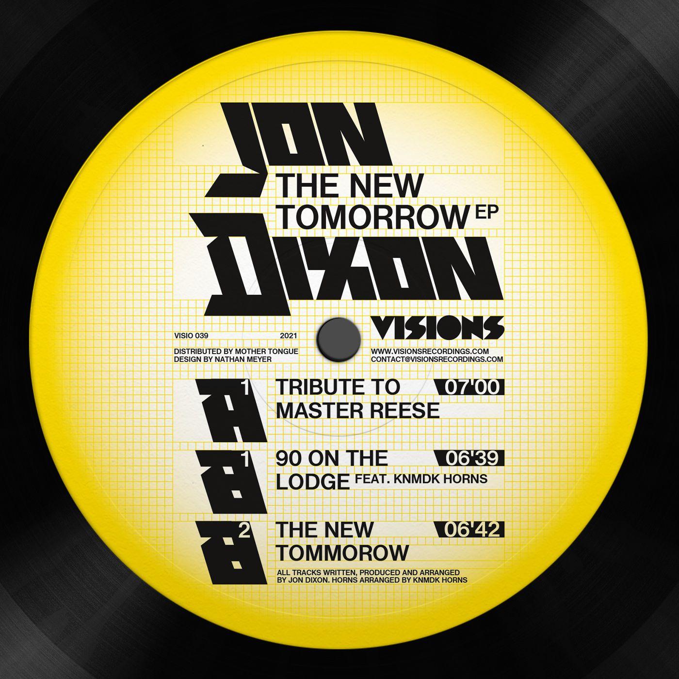 Jon Dixon - The New Tomorrow EP