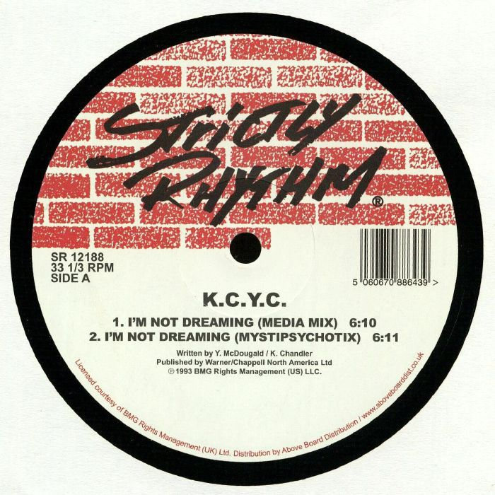 K.C.Y.C - I\'m Not Dreaming / Side By Side