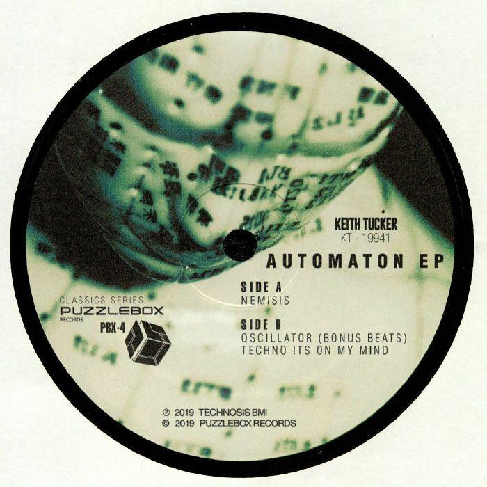 Keith Tucker - Automaton Ep