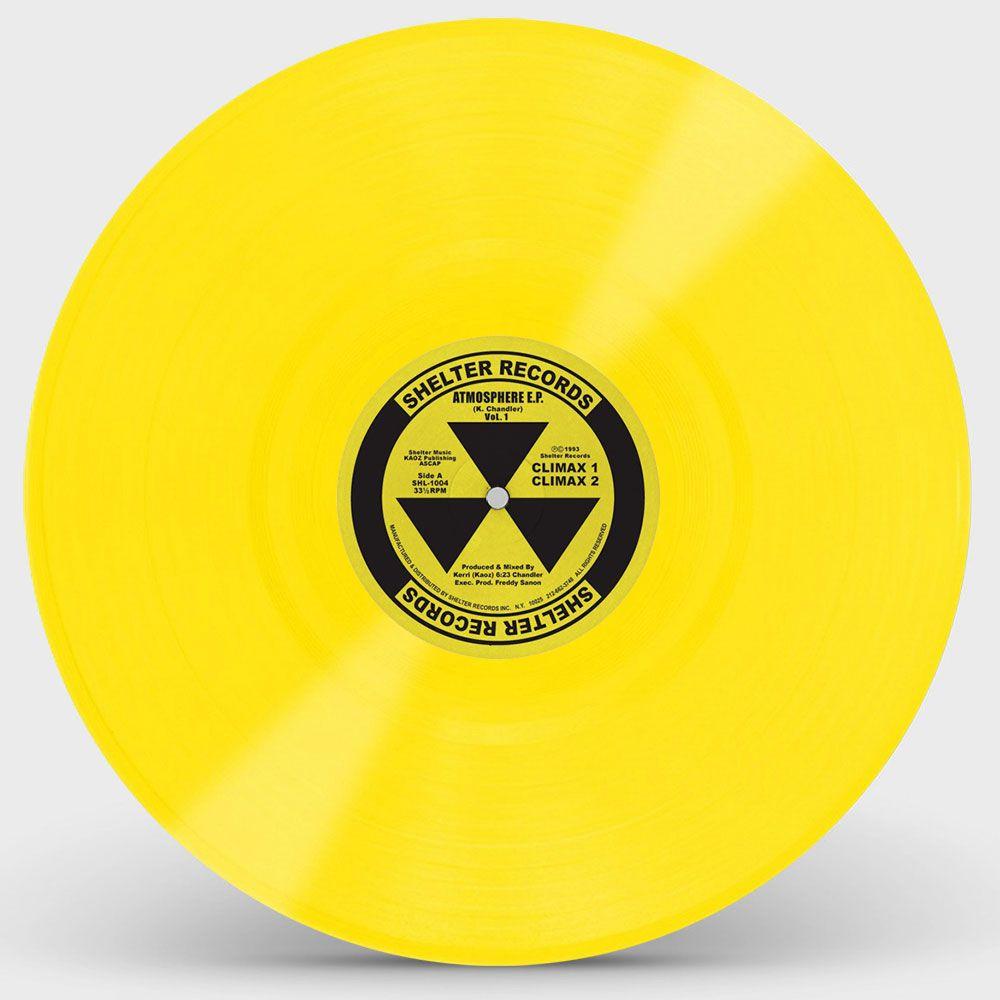 Kerri Chandler – Atmosphere E.P. Vol. 1 [Yellow Vinyl Repress)]