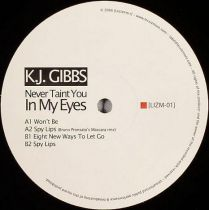 KJ Gibbs ‎– Never Taint You In My Eyes Bruno Pronsato rmx