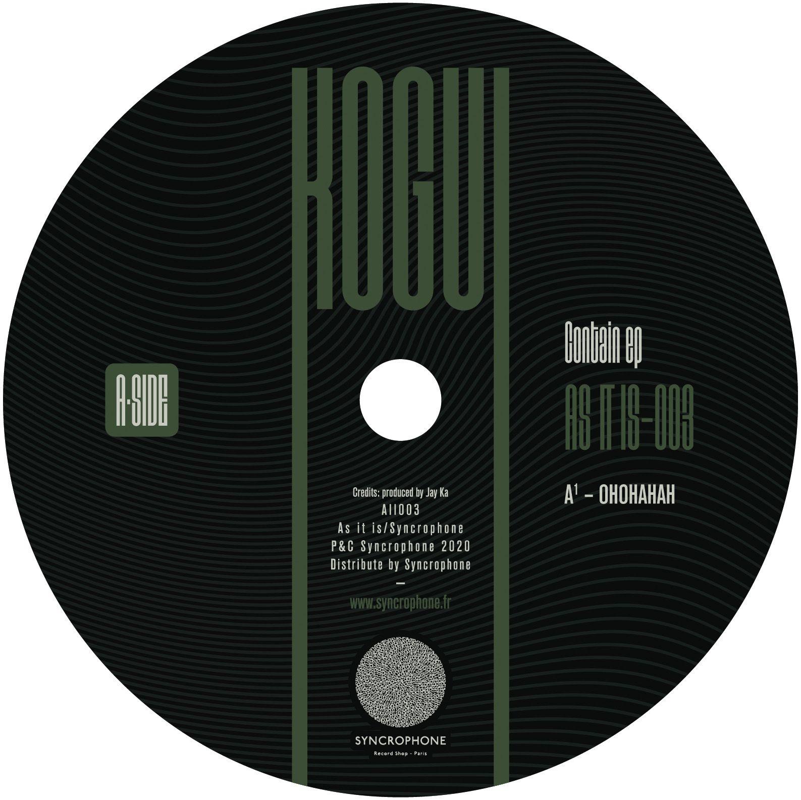 Kogui (Jay Ka) - Contain EP