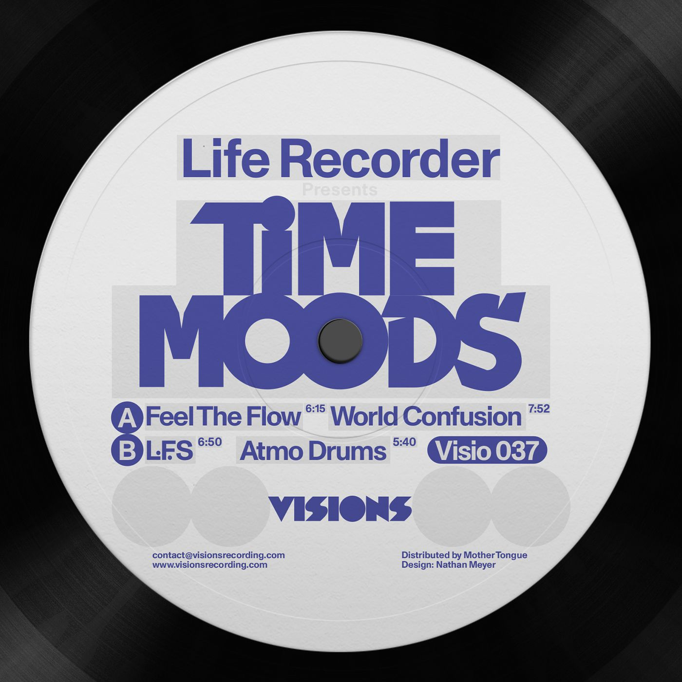Life Recorder - Time Moods EP