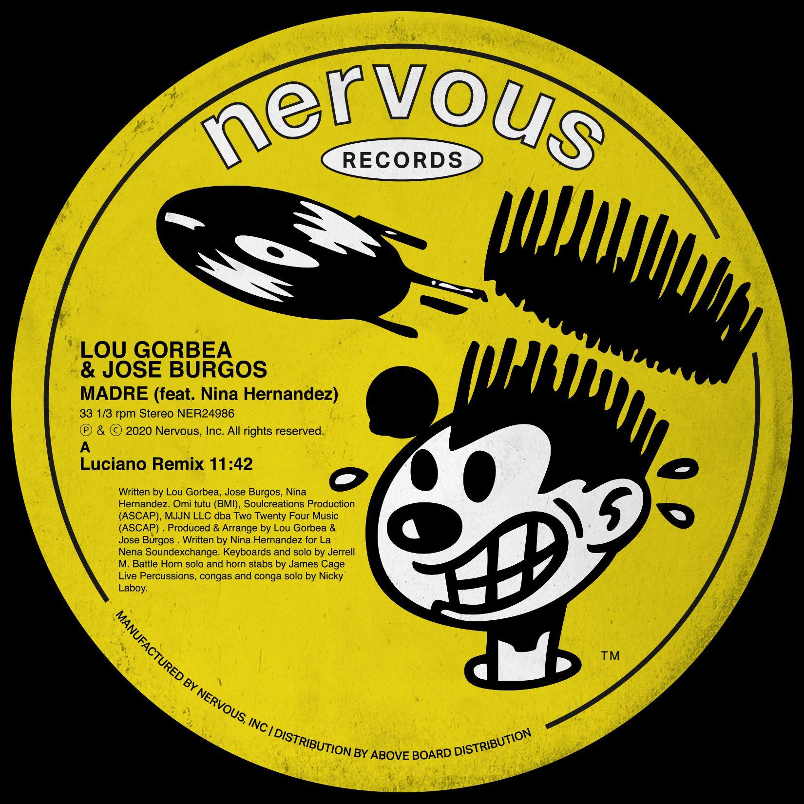 Lou Gorbea & Jose Burgos - Madre feat. Nina Hernandez (Inc. Luciano / FNX Omar / Sano Remixes)
