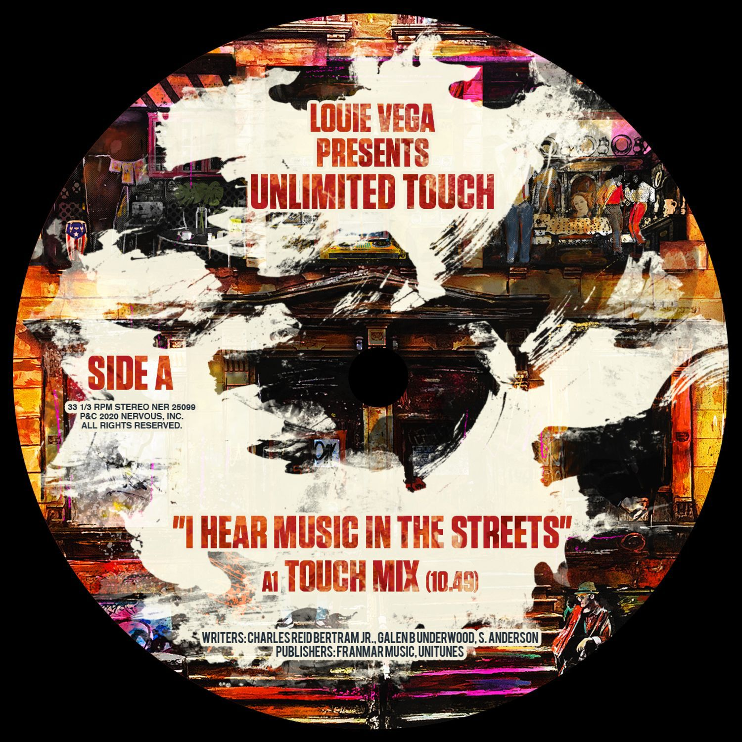 Louie Vega presents Unlimited Touch -  I Hear Music In The Streets