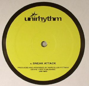 Marcellus Pittman -Sneak Attack / Random Acts Of Insanity