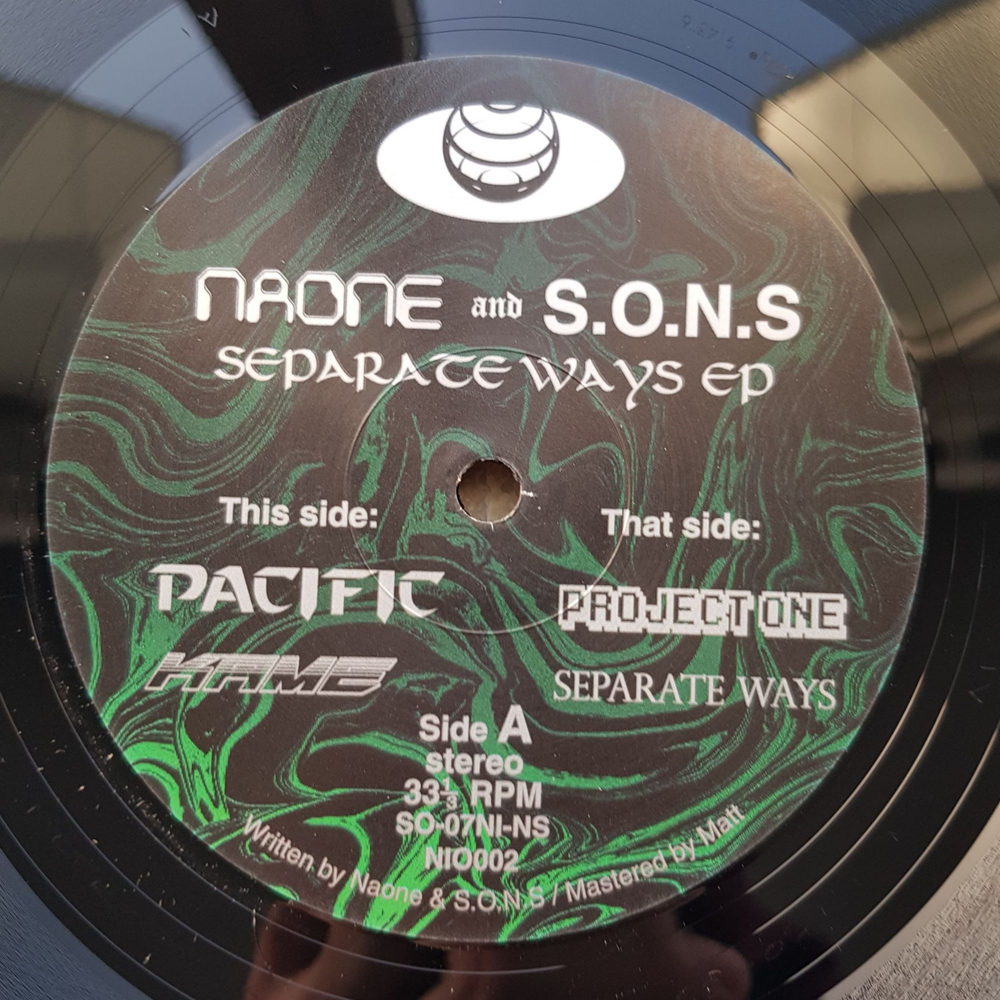 Naone & S.O.N.S  - Separate Ways EP