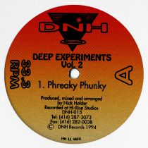 Nick Holder -  Deep Experiments Vol. 2