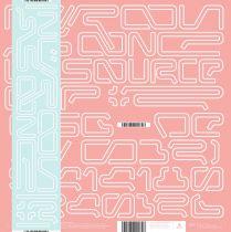 Nuron / As One - La Source 02 [180 gr clear red vinyl / printed + glow in the dark sleeve + obi]