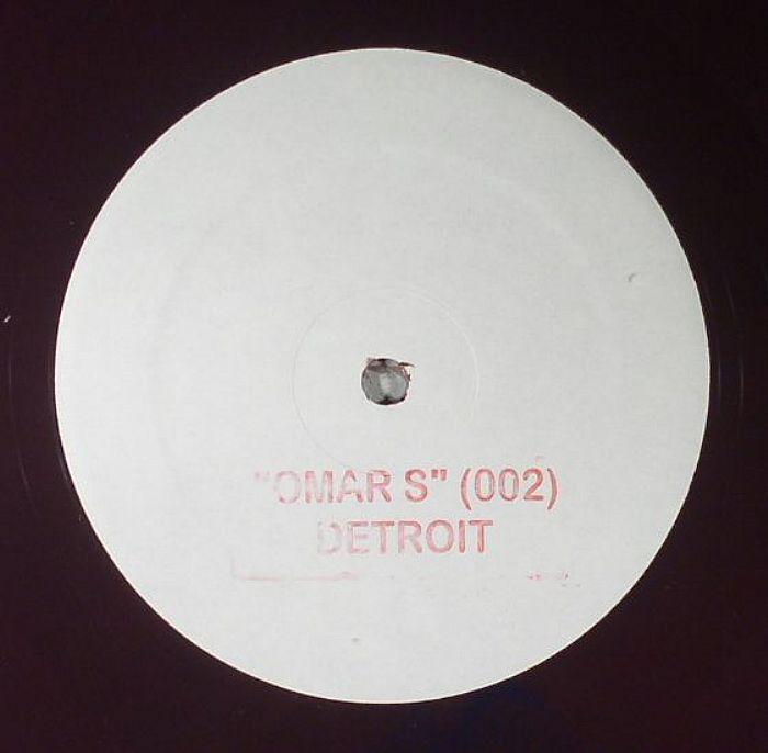 Omar S - 002 Reissue with bonus track - (repress)