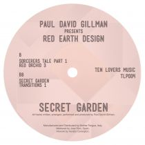"Paul David Gillman pres. Red Earth Design - Secret Garden (2 x 12"")"