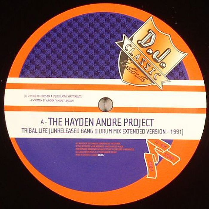 Phuture / The Hayden Andre Project / Dr Derelict - Tribal Life