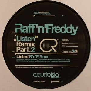 Raff \'N\' Freddy - Listen Remixes (Part 2)