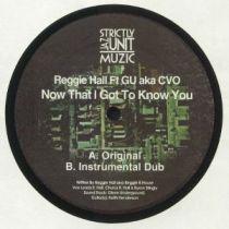 Reggie Hall feat GU aka CVO - Now That I Got To Know You