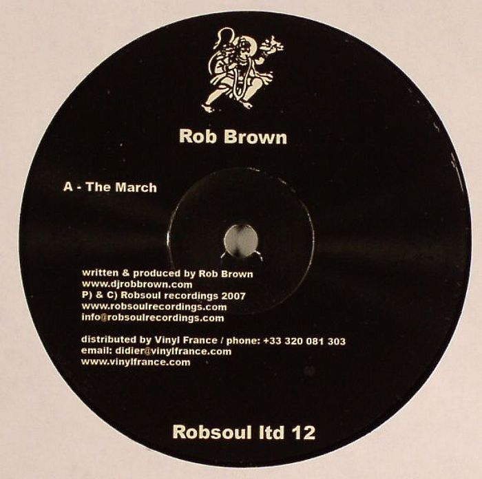Rob Brown / Chris Simmonds - Redsoul Ltd Sampler 12