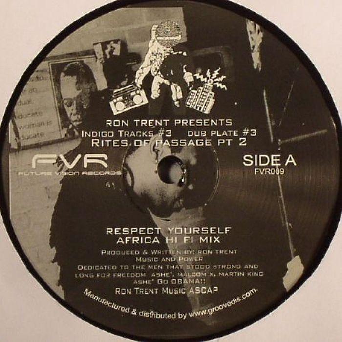 Ron Trent  Presents Indigo Tracks - Indigo Tracks 3 Dub Plate 3: Rites Of Passage Pt 2