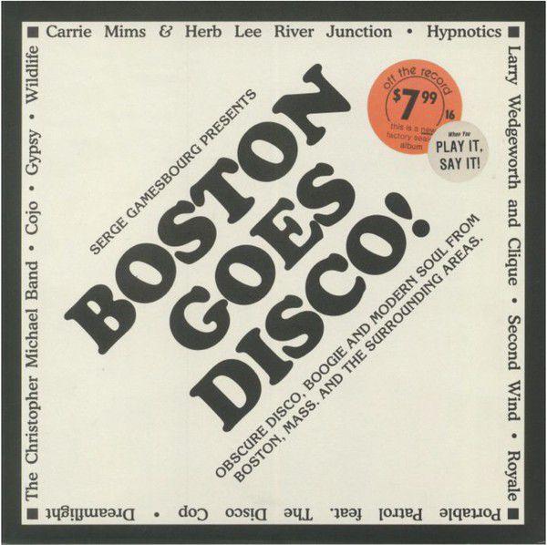 Serge Gamesbourg – Boston Goes Disco!