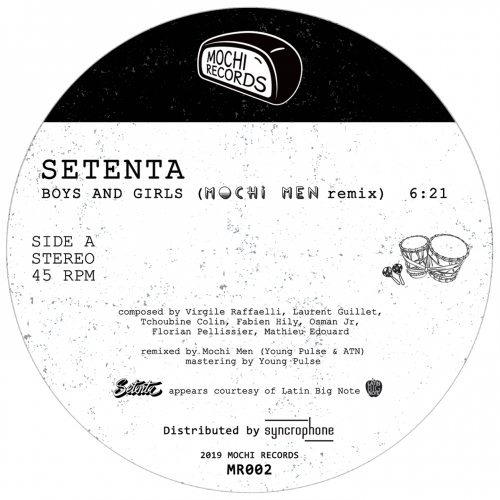 Setenta - Boys and Girls (Mochi Men Remix)