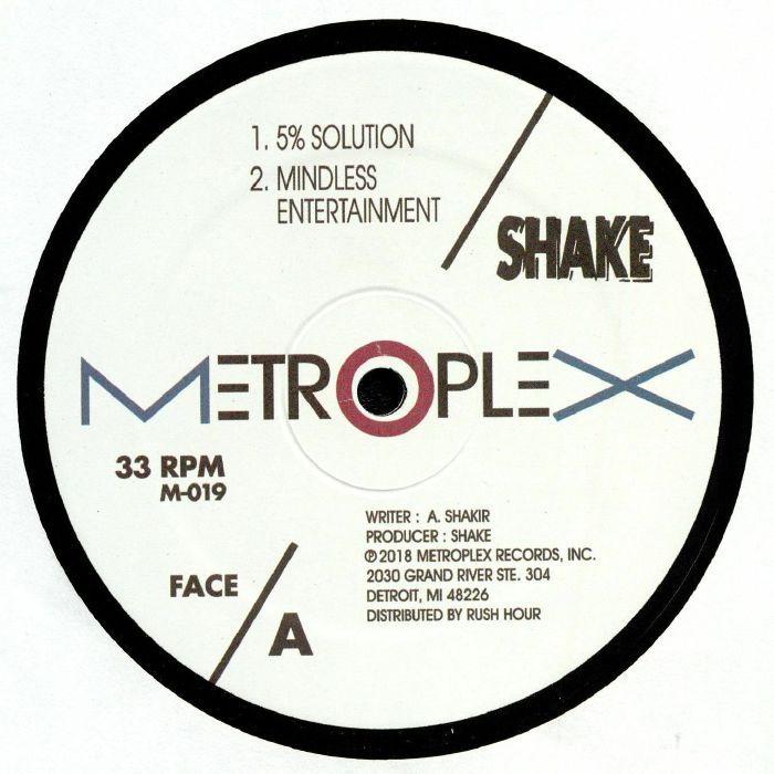 Shake - 5% Solution (Reissue)