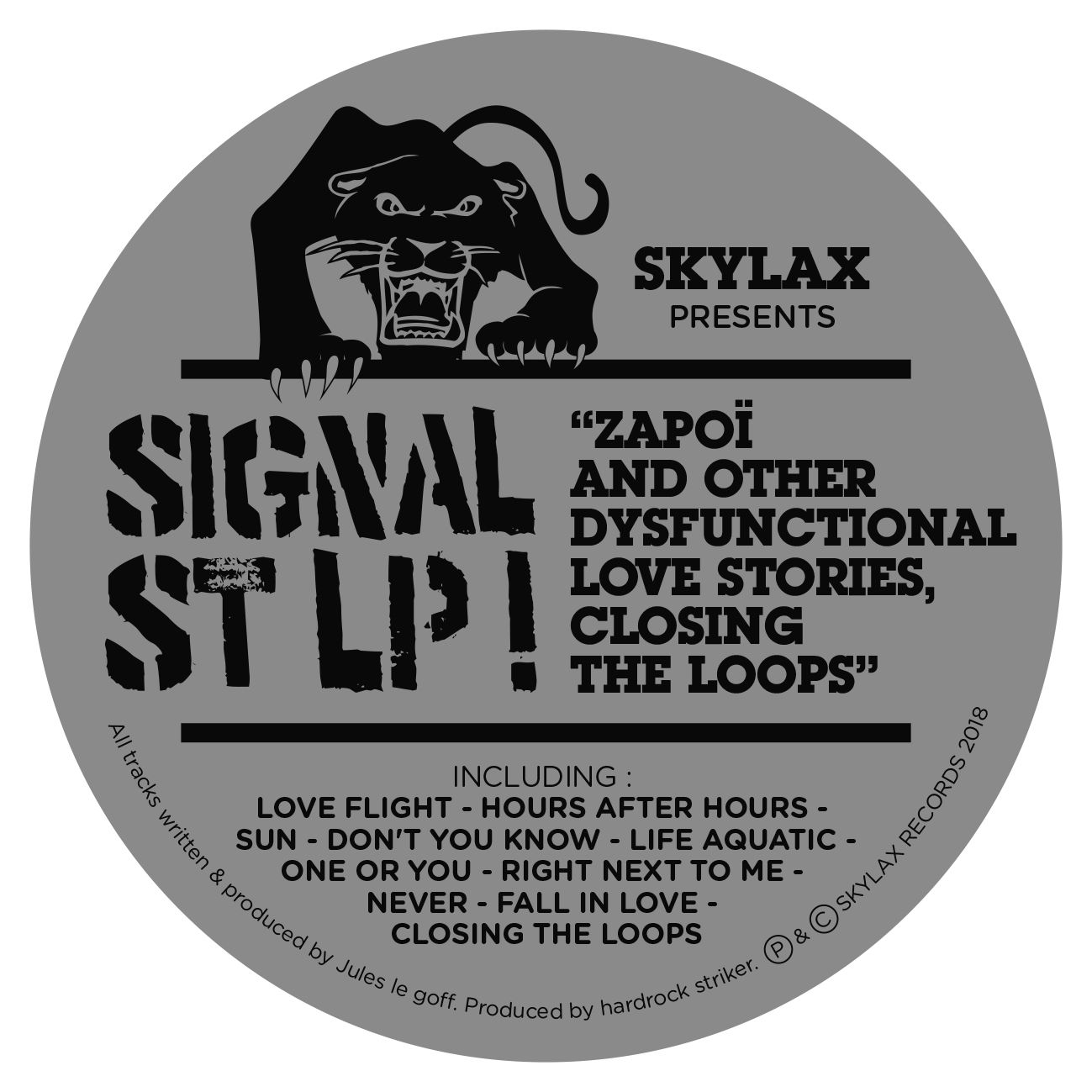 Signal St - Zapoï and other dysfunctional love stories, closing the loops