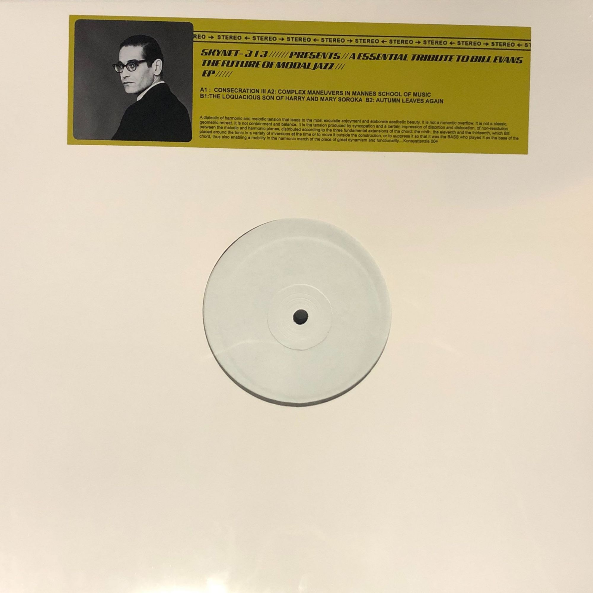 Skynet-313 - A Essential Tribute To Bill Evans The Future Of Modal Jazz
