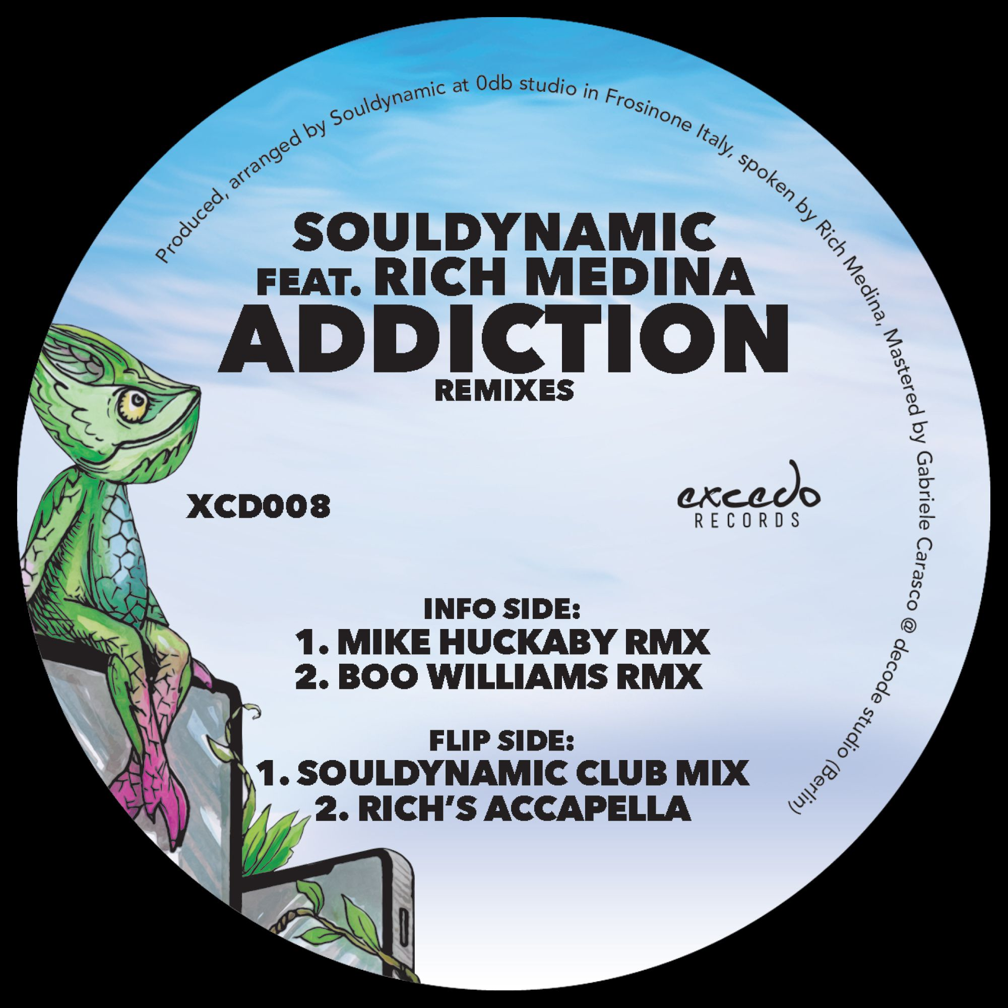 Souldynamic ft. Rich Medina - Addiction (including Mike Huckaby and Boo Williams Remixes)