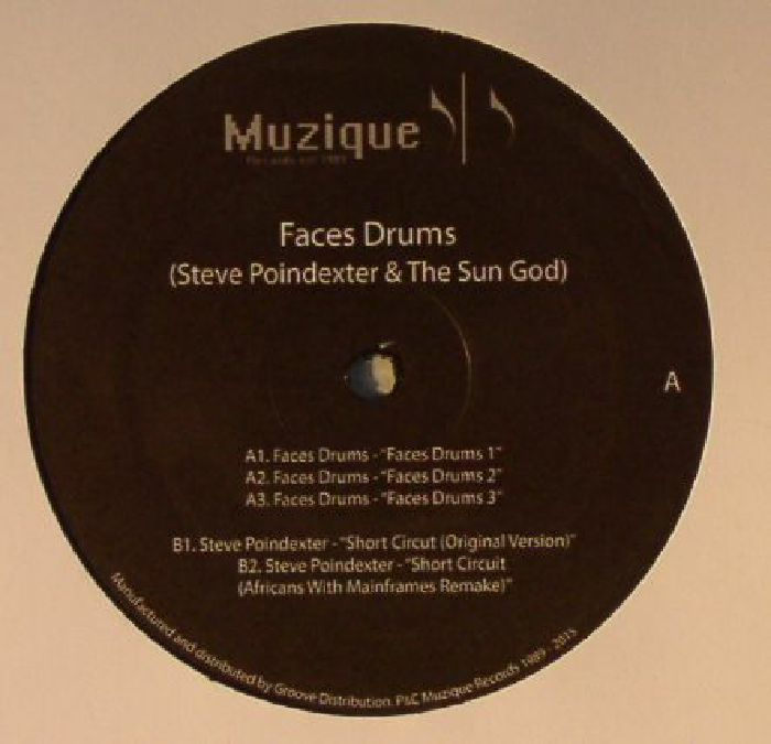 Steve Poindexter & The Sun God - Faces Drums