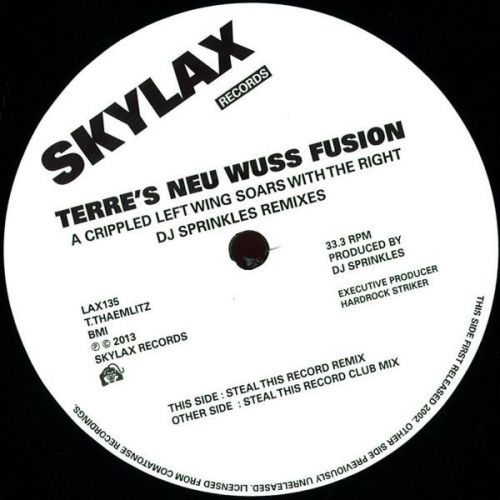 Terre\'s Neu Wuss Fusion - A Crippled Left Wing Soars With The Right (DJ Sprinkles Remixes)
