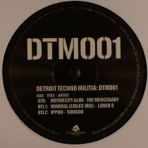 The Mercenary / Loner 9 / Sougon - Detroit Techno Militia