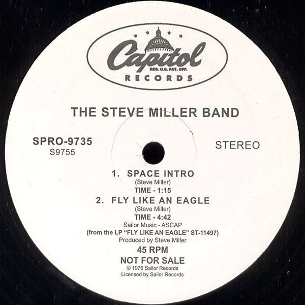 The Steve Miller Band – Space Intro / Fly Like An Eagle / Macho City