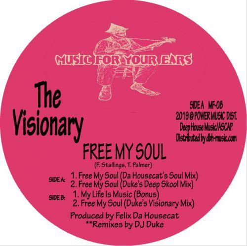 The Visionary (Felix Da Housecat) - Free My Soul - DJ Duke Unreleased remix