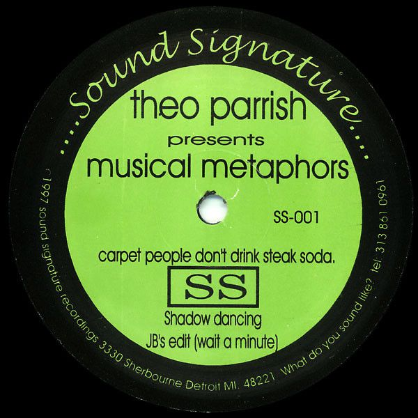 Theo Parrish - Musical Metaphors