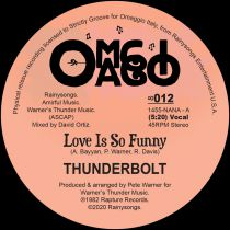 Thunderbolt - Love Is So Funny [official re-issue / orange marbled vinyl]