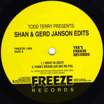 Todd Terry - Todd Terry Presents: Shan & Gerd Janson Edits