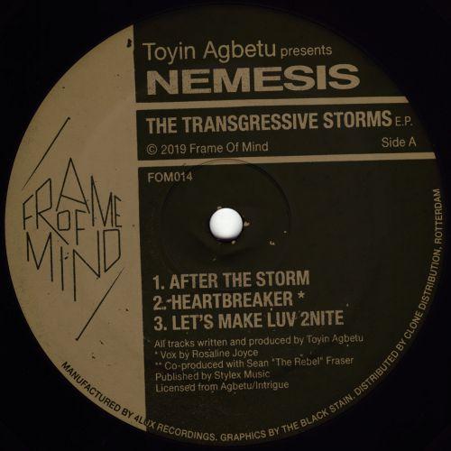 Toyin Agbetu Presents Nemesis - The Transgressive Storms EP