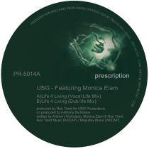 USG Featuring Monica Elam - Live 4 Living [reissue]