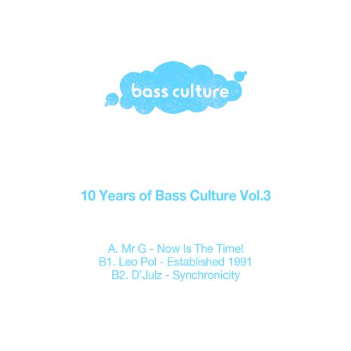 V/A (Mr G. , Léo Pol, D'julz) - 10 Years of Bass Culture: Part 3