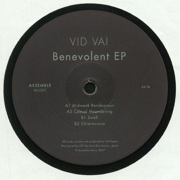Vid Vai - Benevolent EP