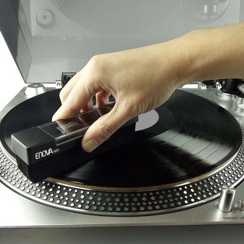 Vinyl velvet brush